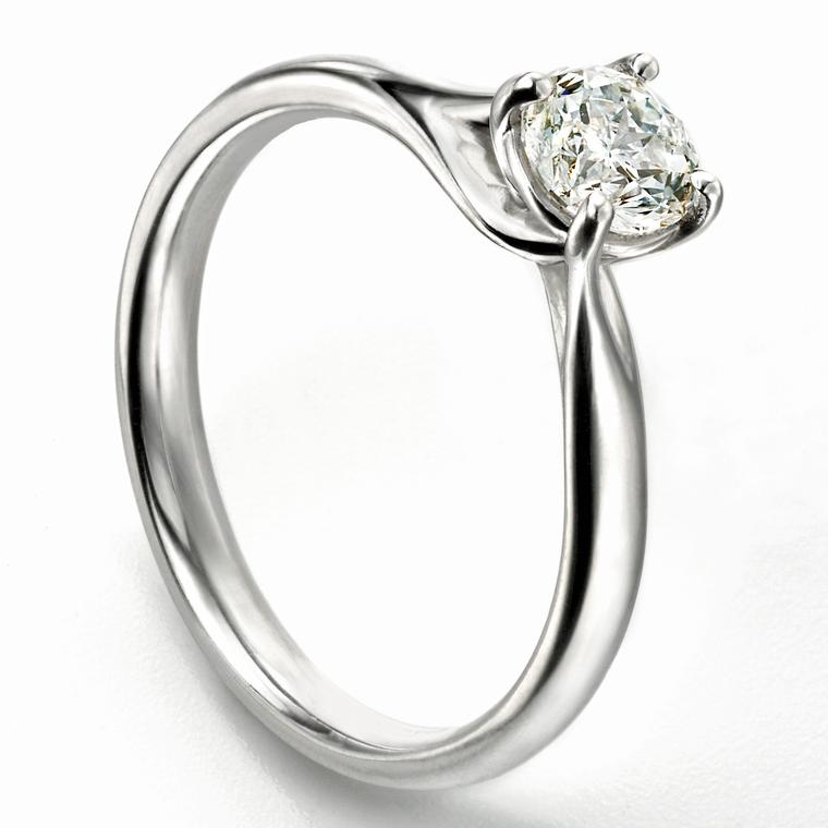 Mastercut Diamond Fairtrade gold engagement ring