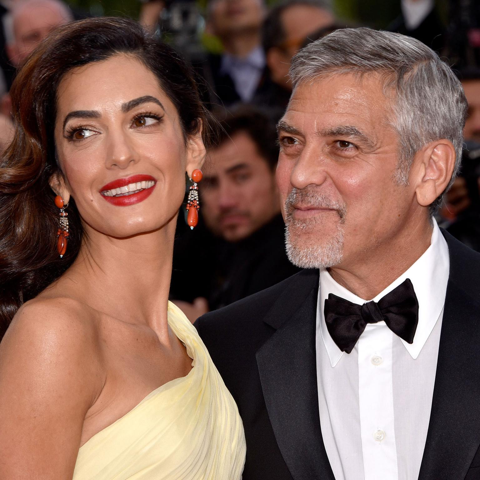Cannes 2016 Day 2: Amal and George Clooney in Cartier