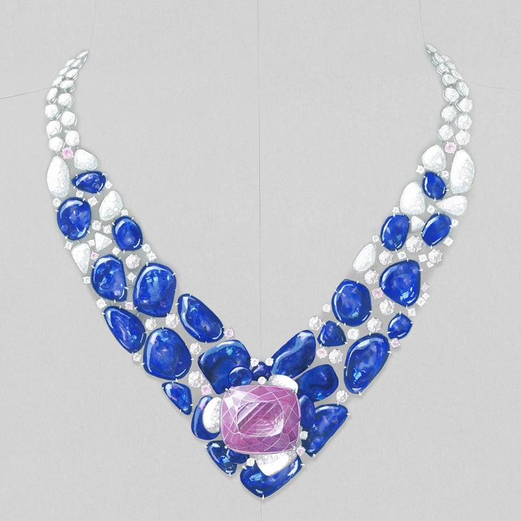Cartier Hemis necklace