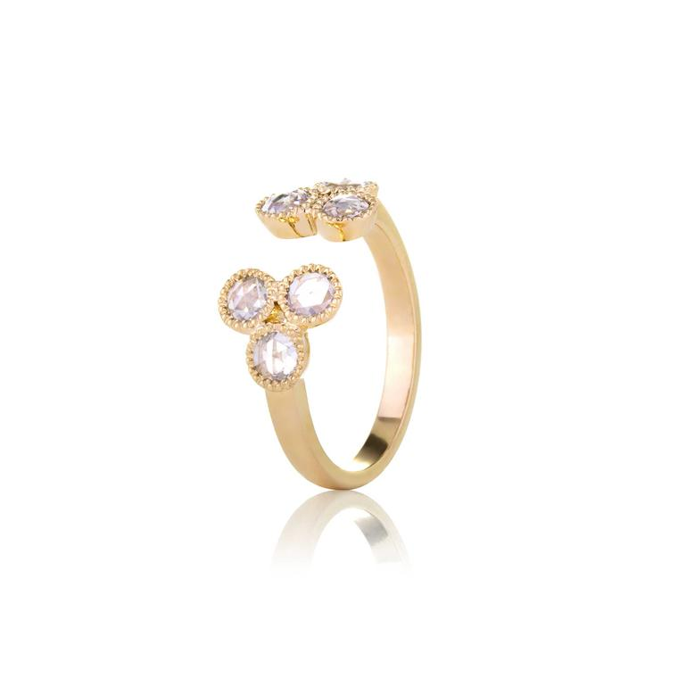 Sethi open diamond ring