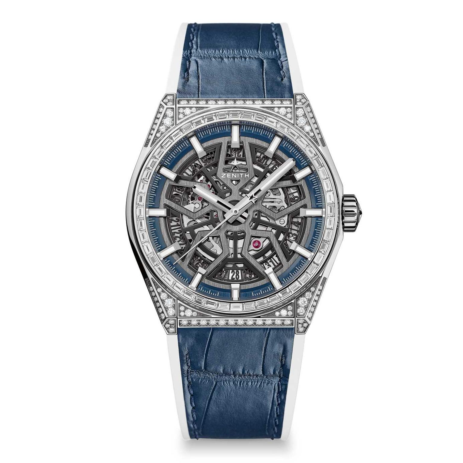 Zenith Defy Classic High Jewelry titanium diamond watch