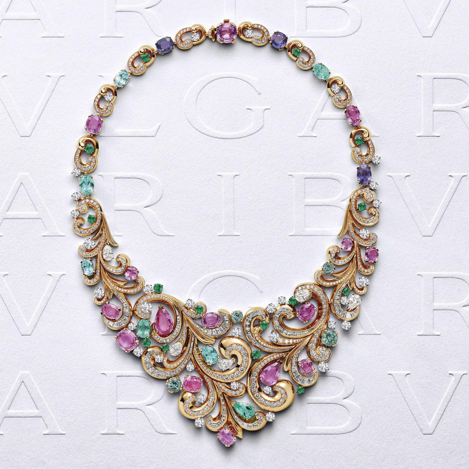 Bulgari Barocko Lady Arabesque necklace