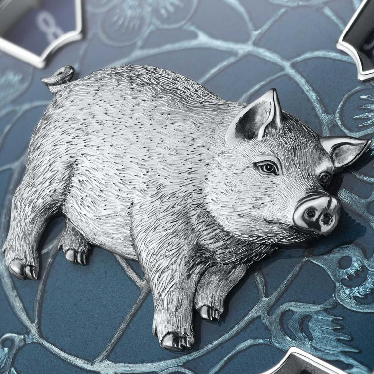 Going the whole hog: Chinese Year of the Pig watches
