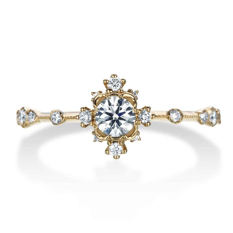 Kataoka Diamond Snowflake Cluster ring