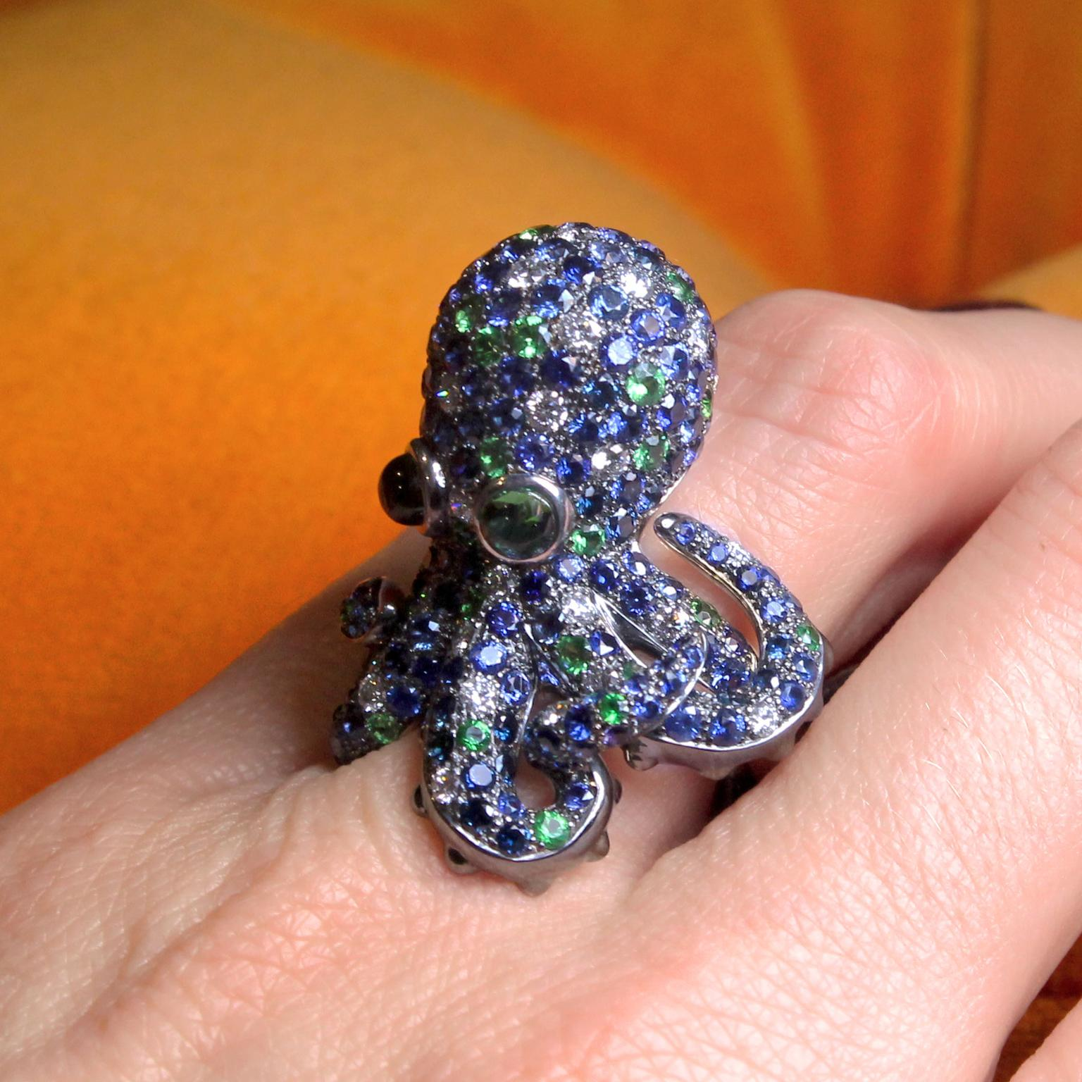 Roberto Coin Octopus ring at Baselworld