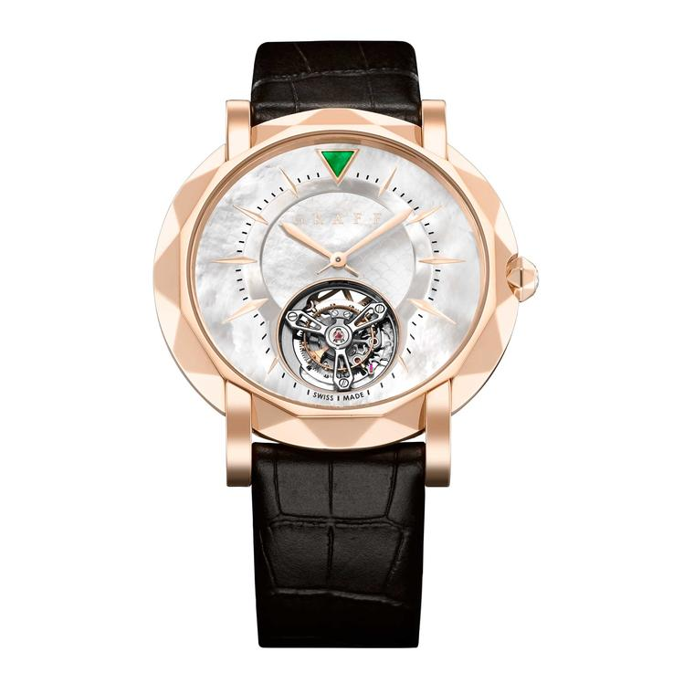 Graff MasterGraff Ultra-Flat Tourbillon in rose gold