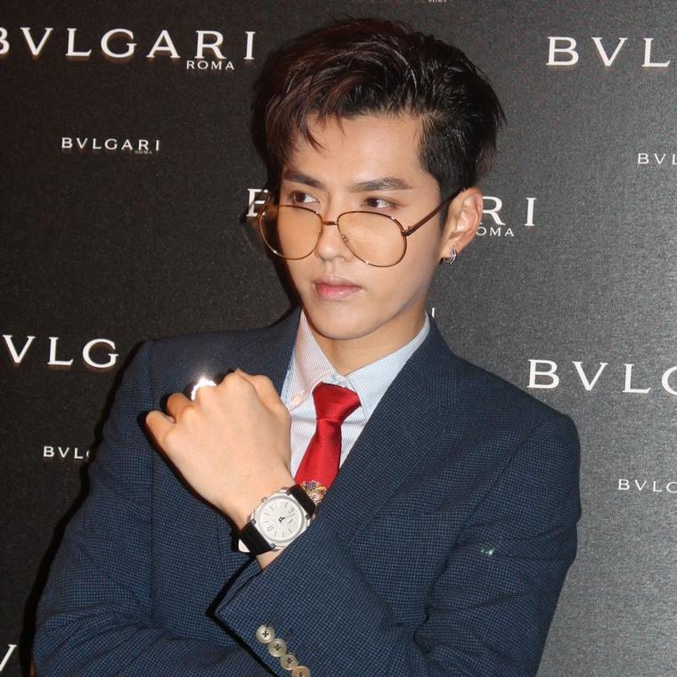 Kris Wu Baselworld 2017 Bulgari launch event
