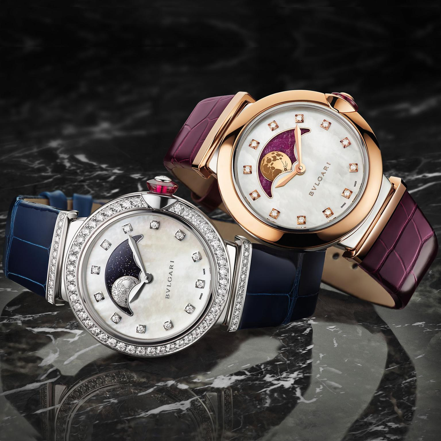 Bulgari Lucea Moon Phase watches