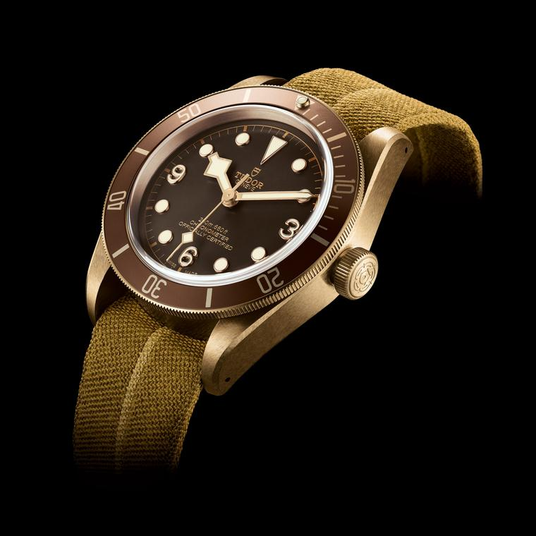 Heritage Black Bay Bronze watch