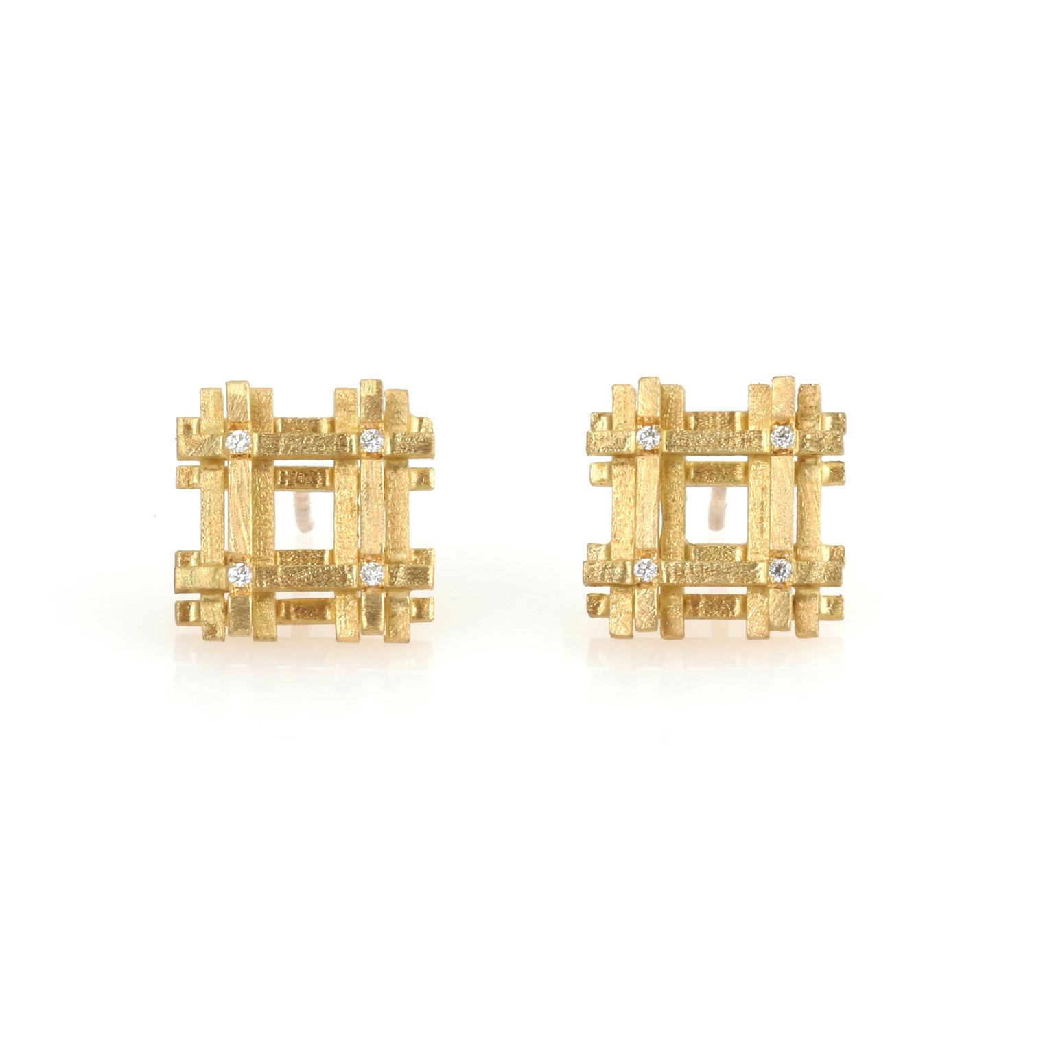 Shimell and Madden diamond earrings