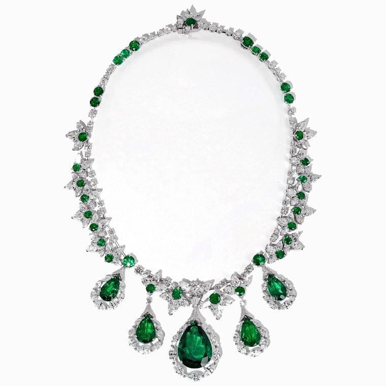 David Morris emerald necklace