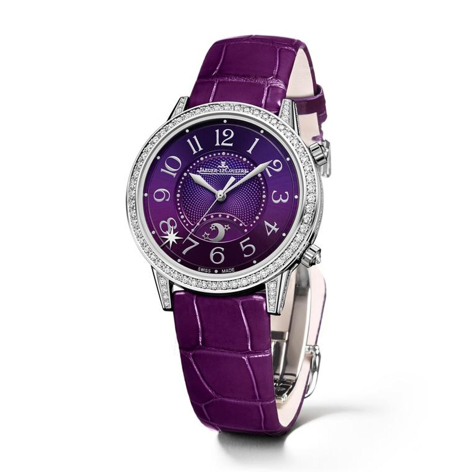 Jaeger-Le-Coultre Rendez-Vous Sonatina with purple dial