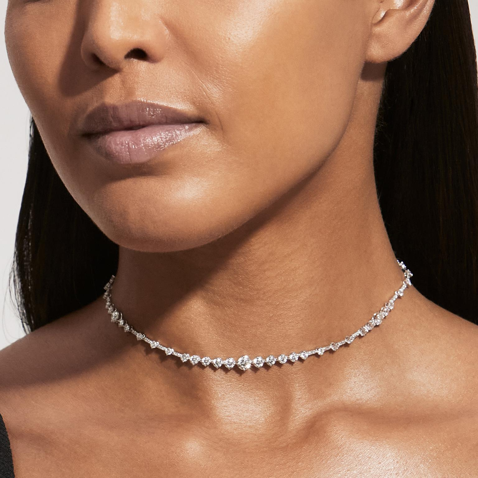 Arpeggia choker by De Beers
