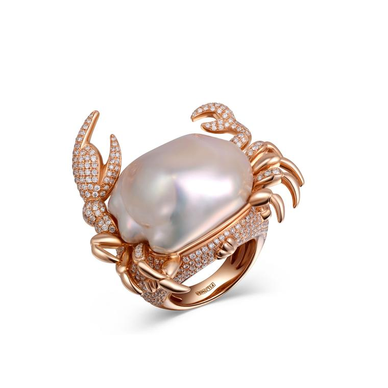 Fei Liu Crab ring