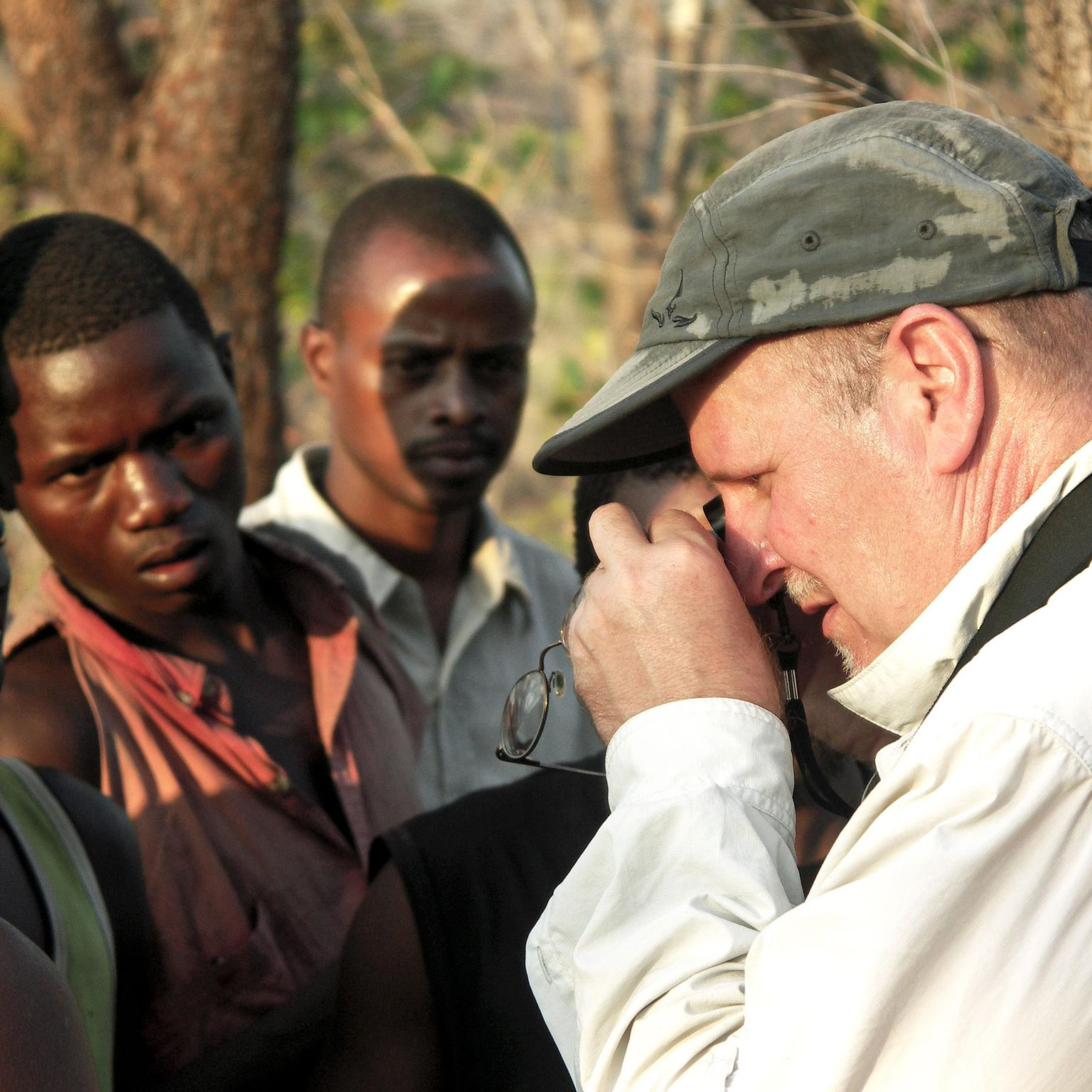 Filming of Follow the Zebra in Tanzania