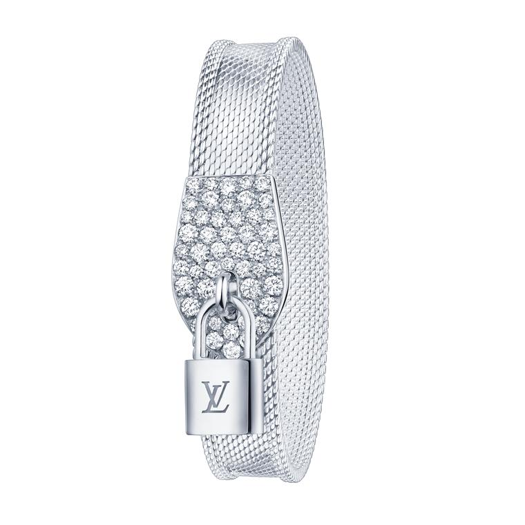 Louis Vuitton Lockit Souple bracelet