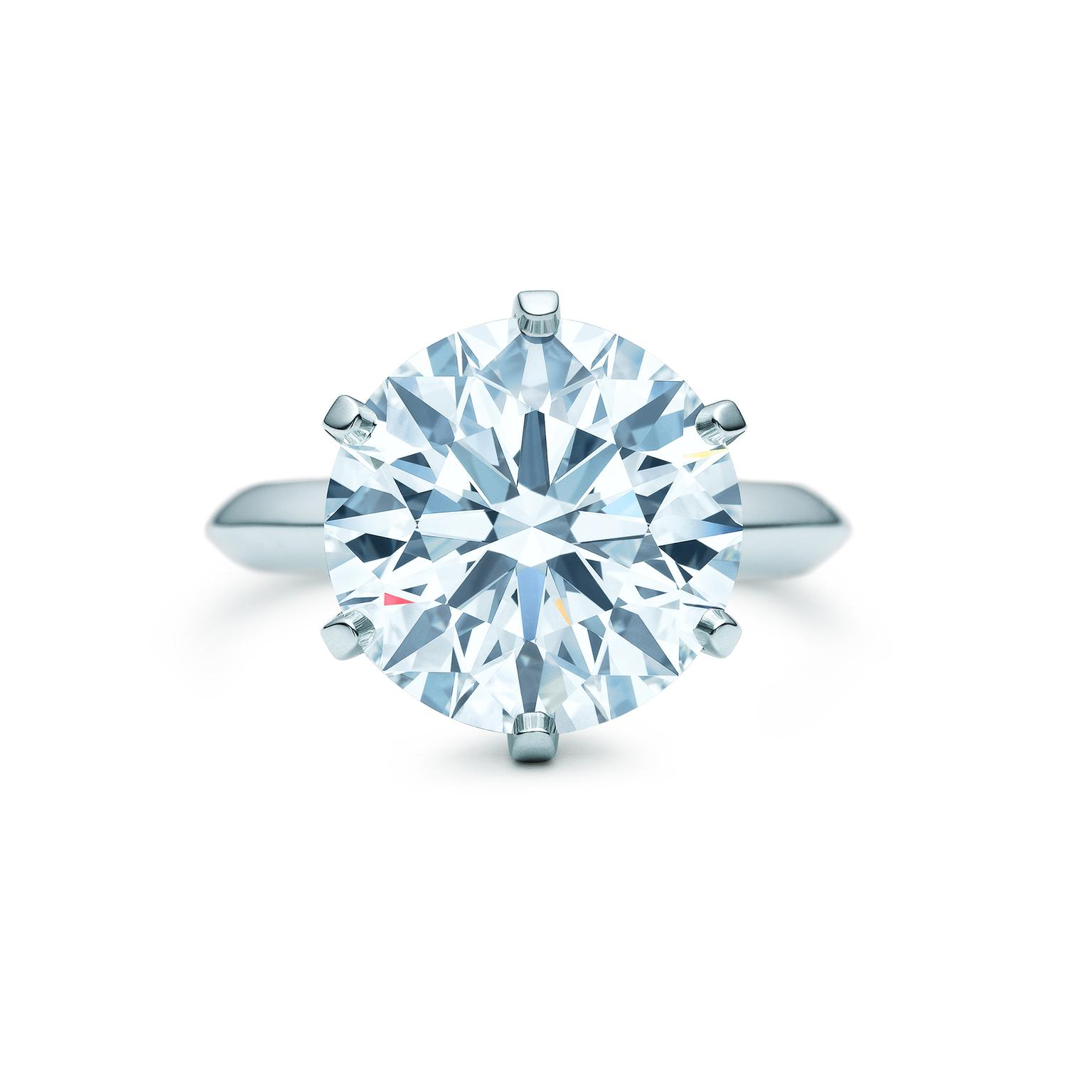 Tiffany setting Solitaire
