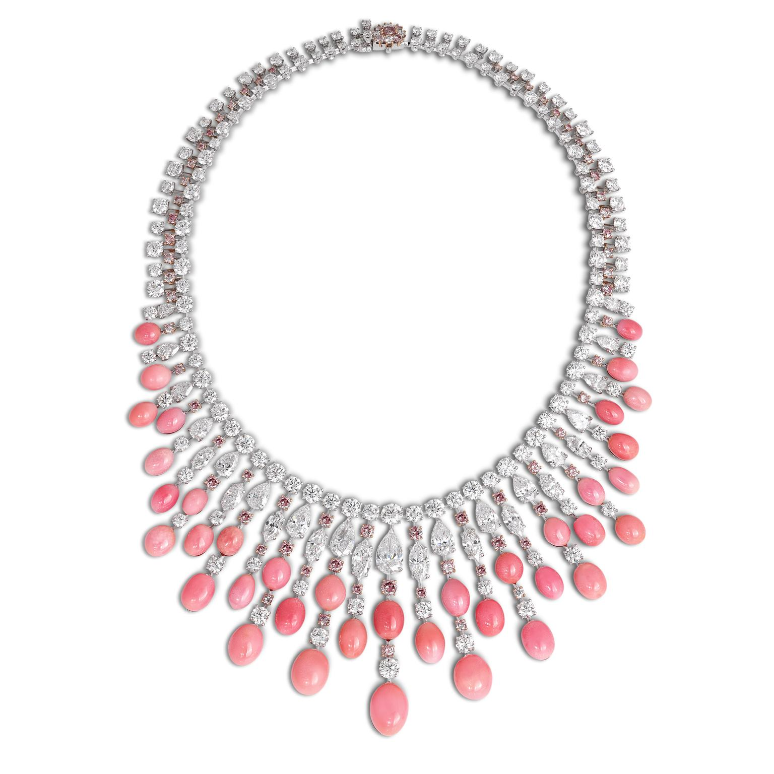 David Morris conch pearl necklace