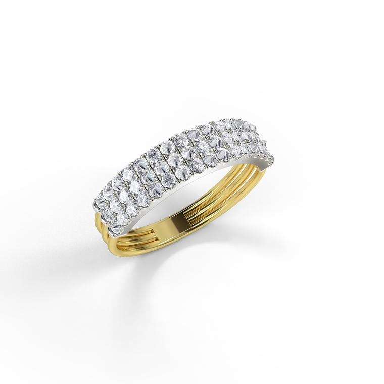 Feel The Love personalised diamond ring