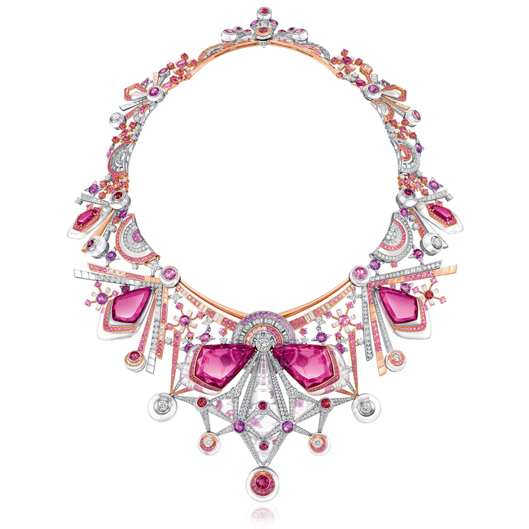 Chow Tai Fook L'Acoustique du Coeur necklace