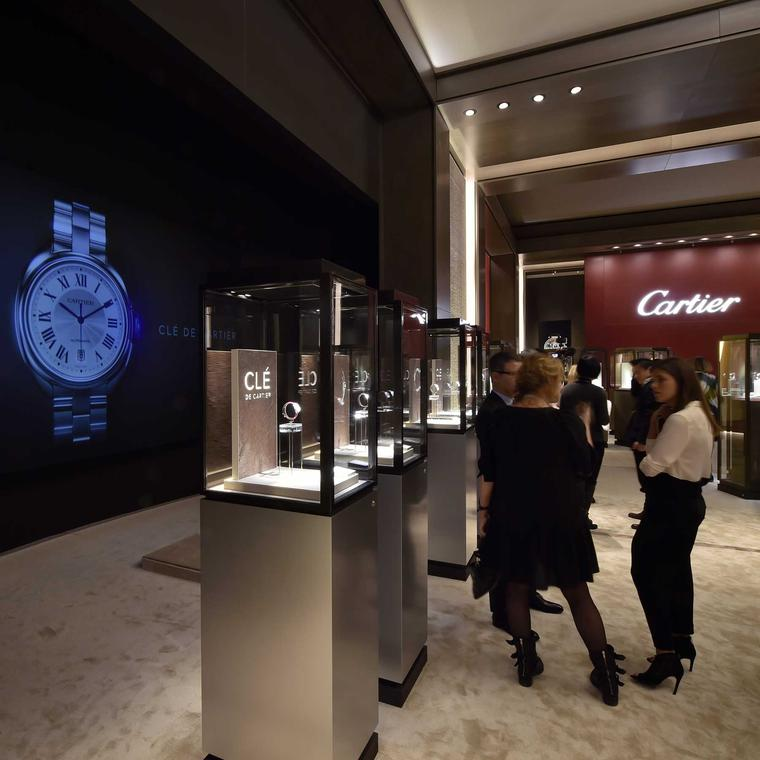Cartier at the SIHH 2015.