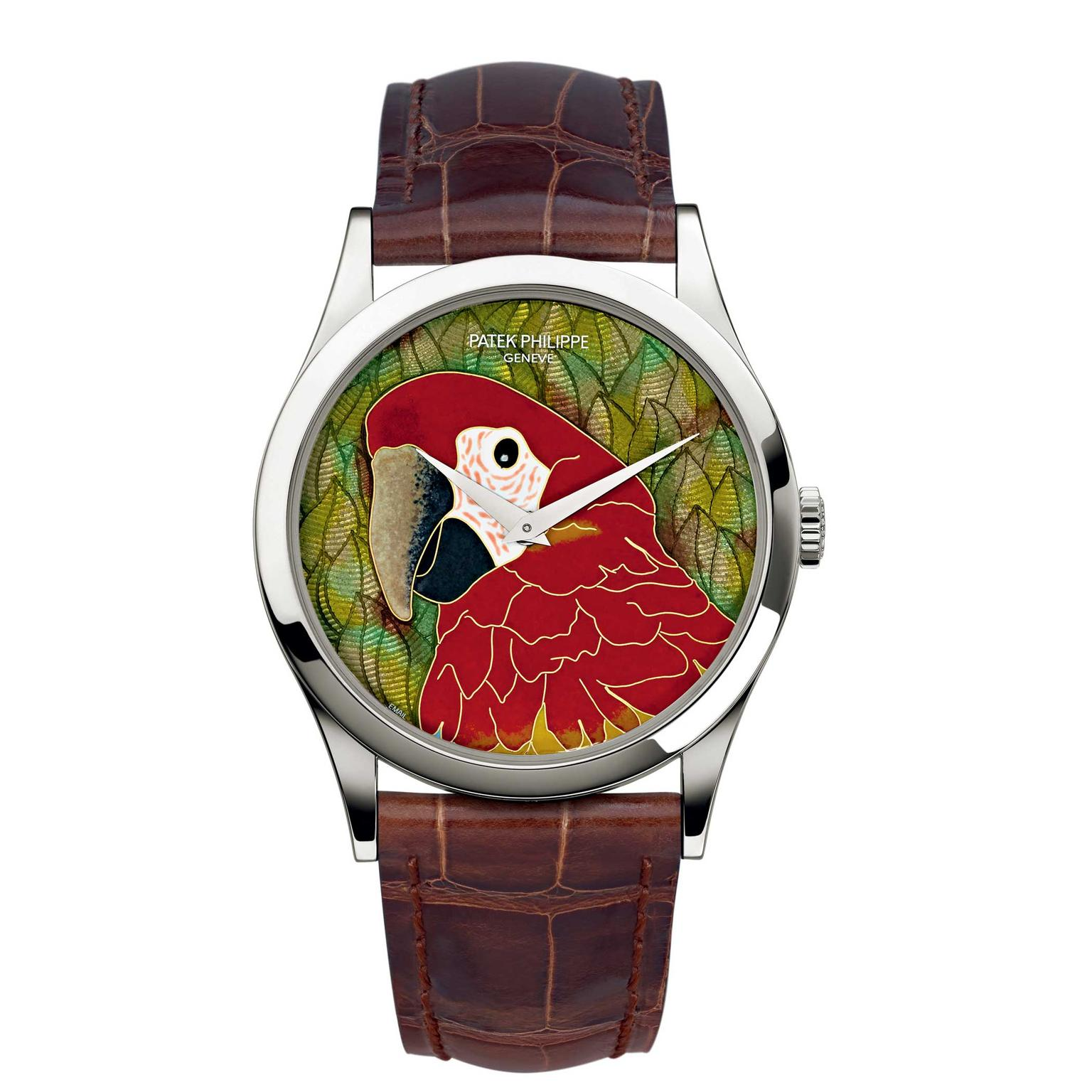 Patek Philippe Rare Handcrafts Macaw watch