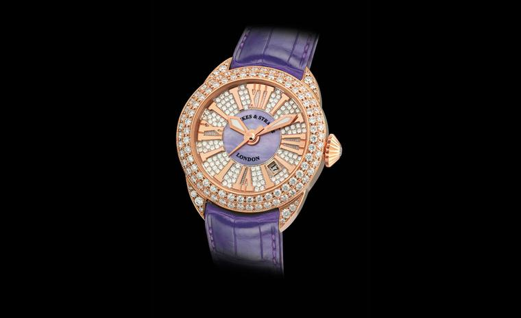 Backes & Strauss Piccadilly Diamond dial watch. Price on application