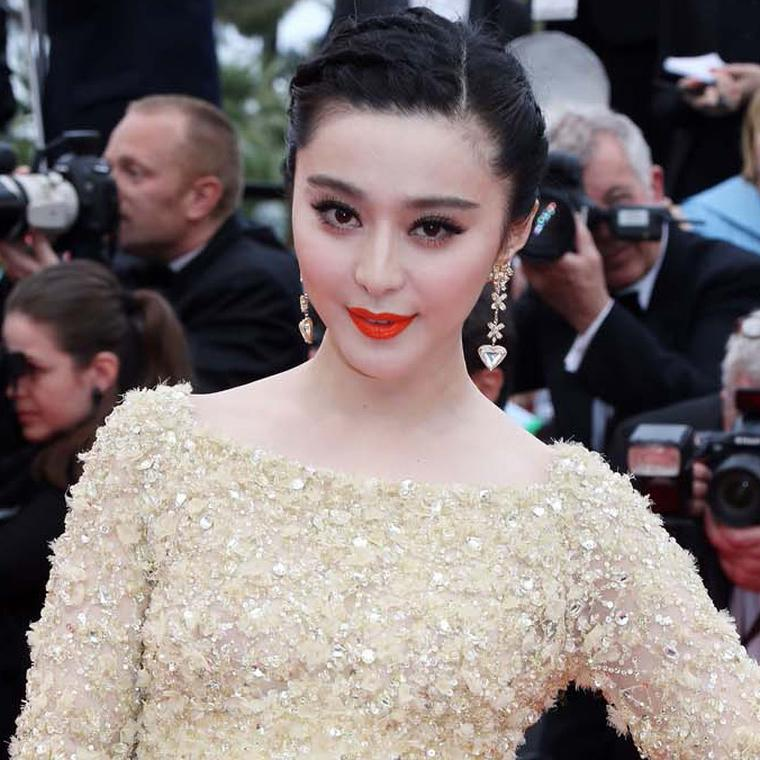 Fan Bingbing in Chopard jewels at Cannes Film Festival 2013