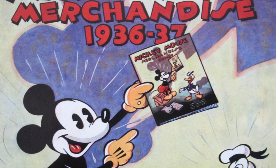 Mickey Mouse is now 80 years old. A poster from 1937