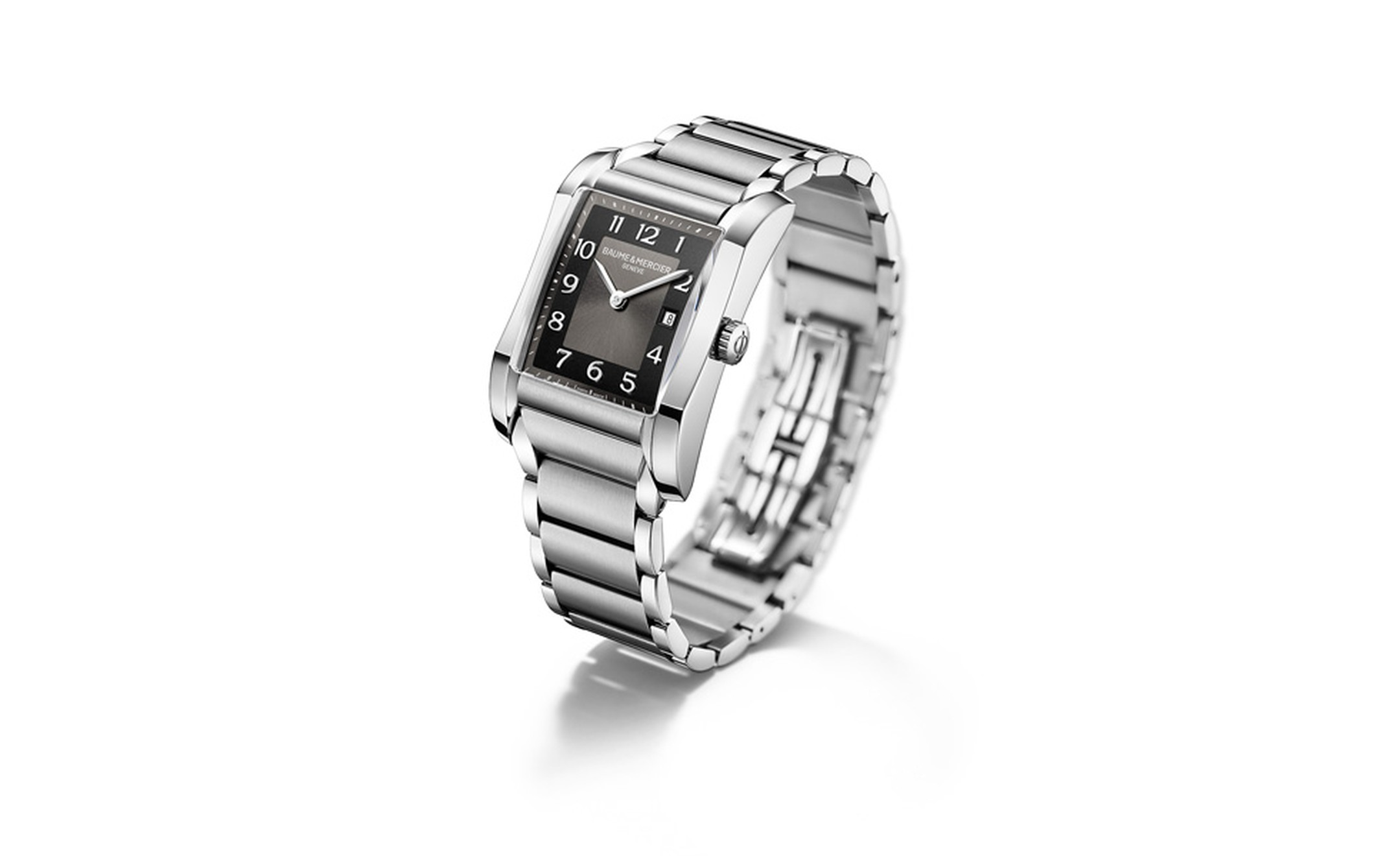 Baume et Mercier Hampton for women: stainless steel case with stainless steel bracelet and quartz movement. £1,860