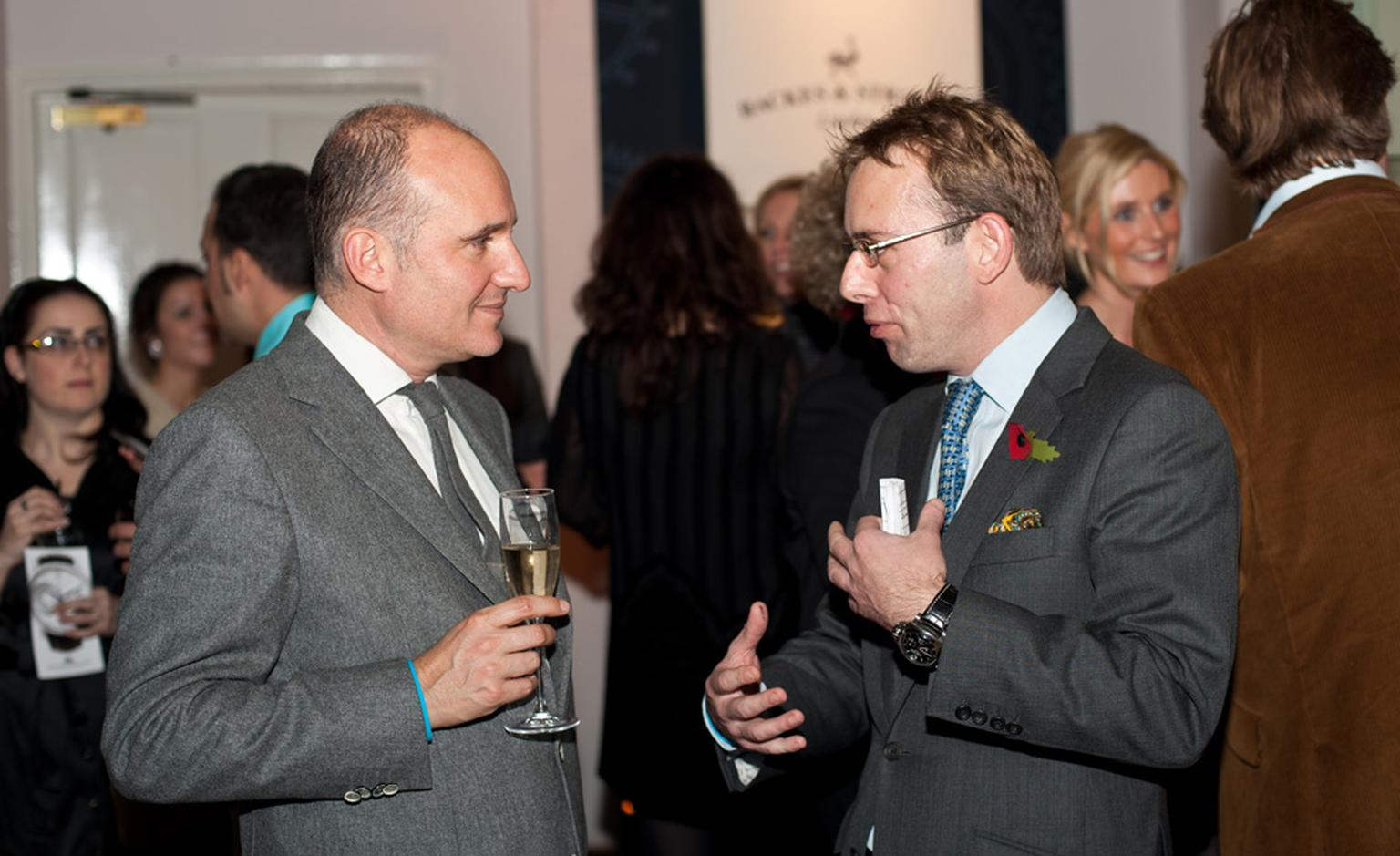 Salon QP 2010 with James Gurney (right), the man behind UK's only watch show.