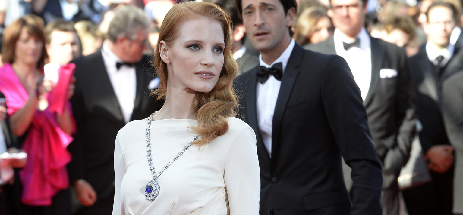Chastain Bulgari Cannes