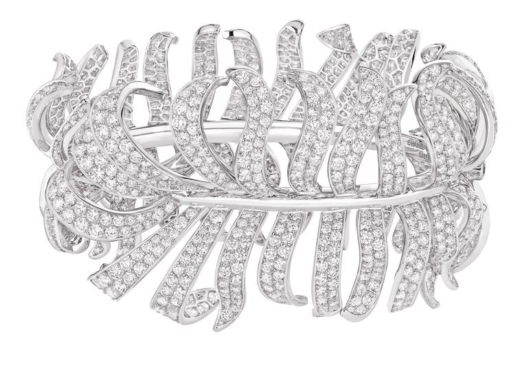 Chanel Plume diamond bracelet