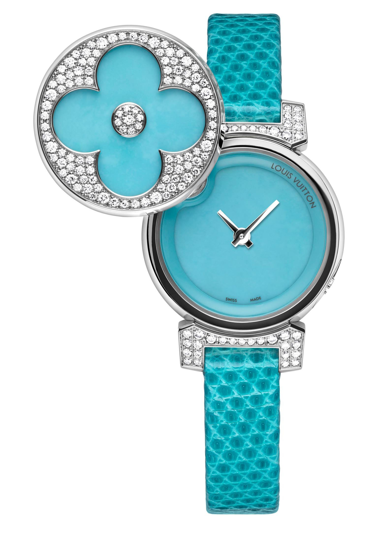 Louis Vuitton Tambour Bijou Secret watch_20130613_Zoom