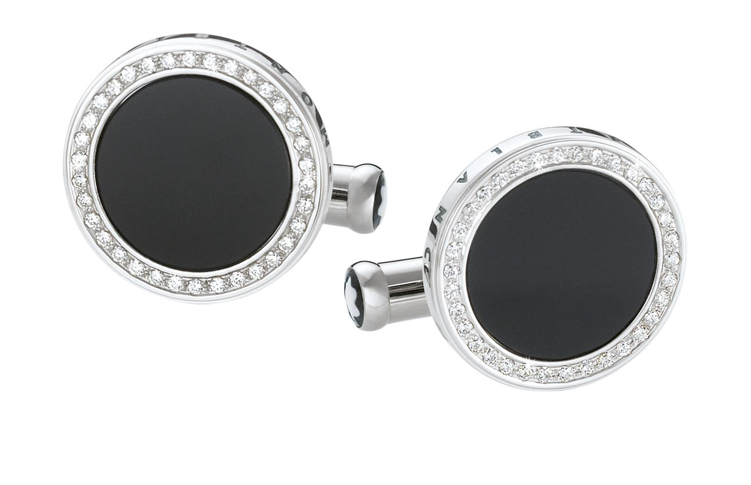 Montblanc white gold and diamond cufflinks_20130613_Zoom