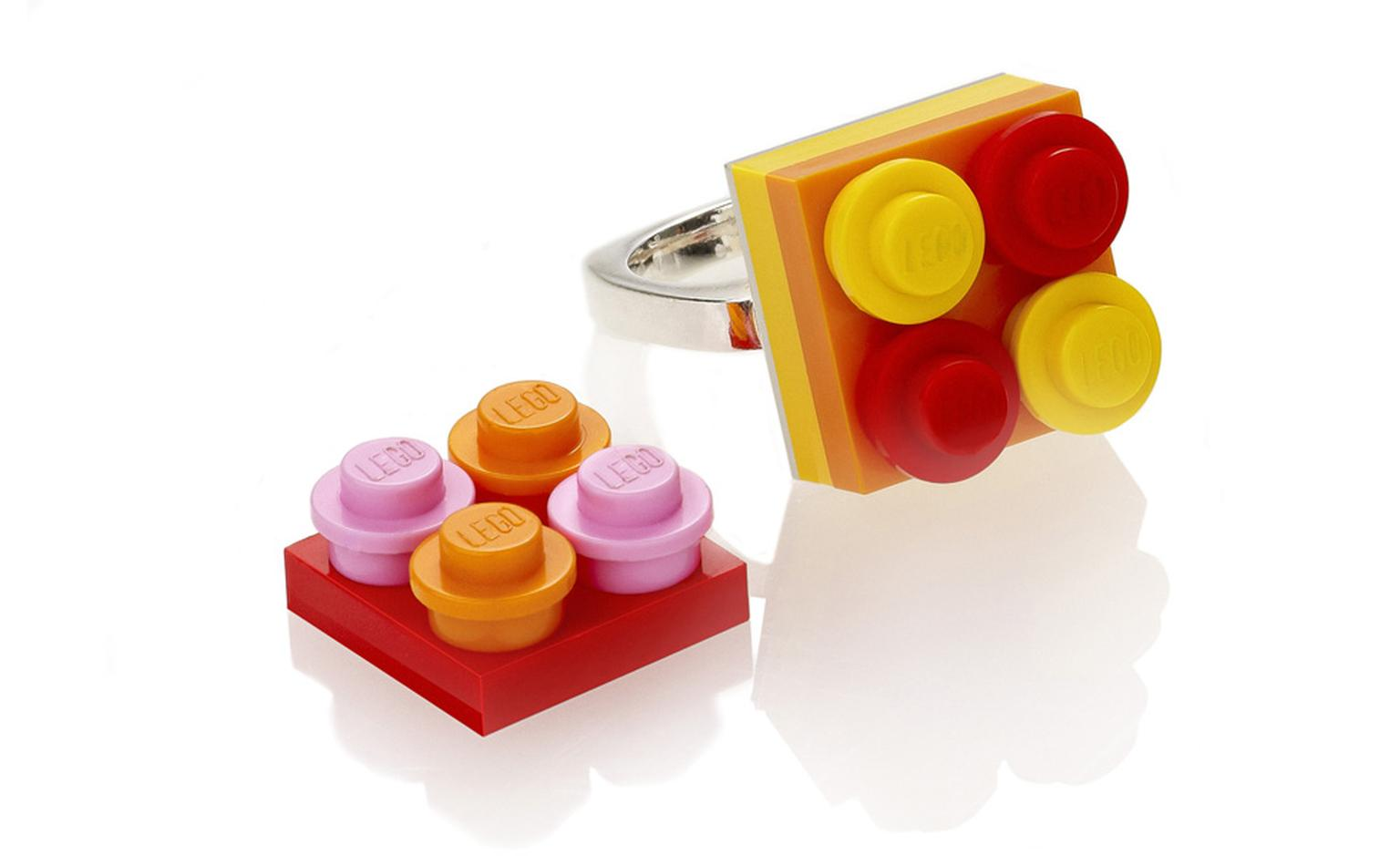 SELFRIDGES Lego jewellery by Lisa Taylor £50