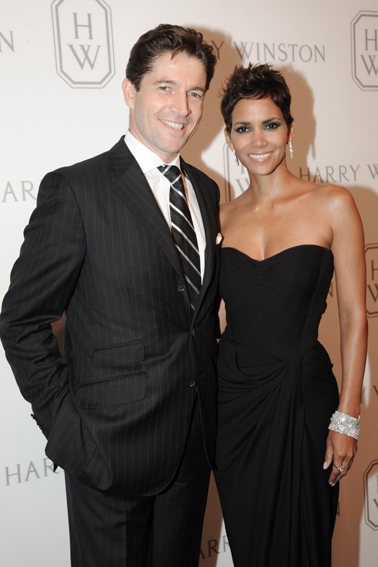 Frédéric de Narp,President & CEO, Harry Winston & Halle Berry at Court of Jewels
