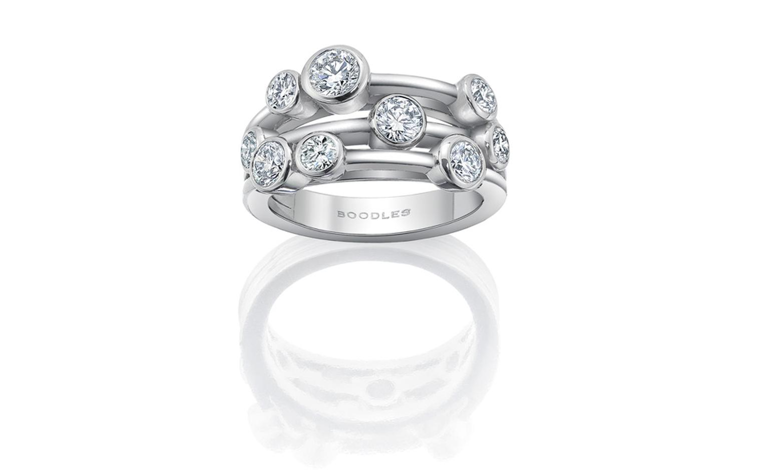 Boodles Signature Raindance ring from £7500