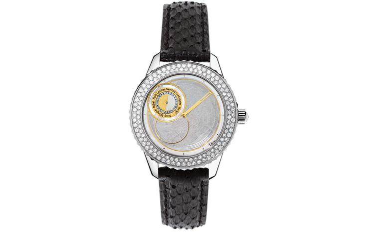 Dior Christal Vendôme world time watch