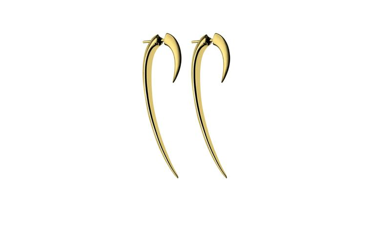 Shaun Leane, Large Gold Hook Earrings £165