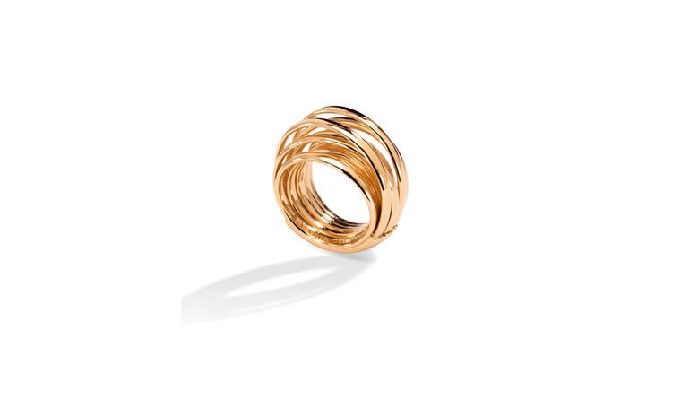 De Grisogono, Allegra ring in pink gold £2,200