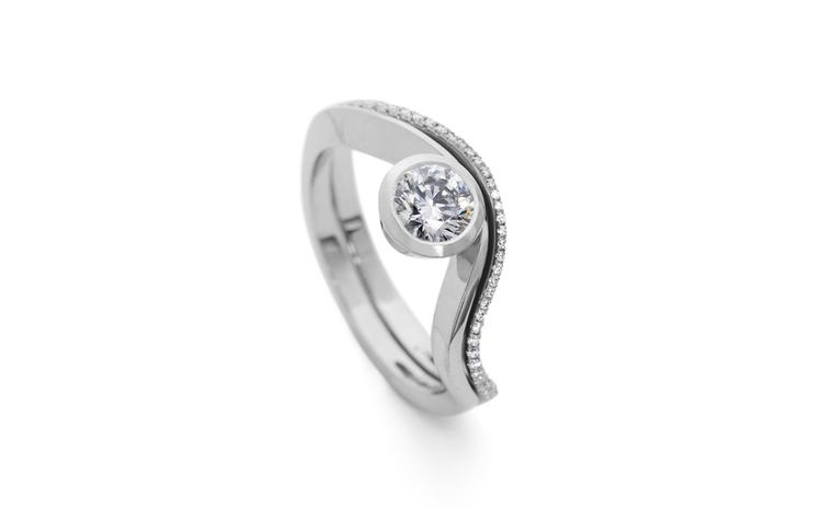 David McCaul, Platinum engagement ring
