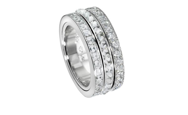 PIAGET, High Jewellery Possession ring,  White gold and diamonds. Price from £26,000