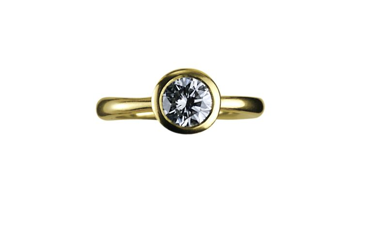 WRIGHT AND TEAGUE, Delphi ring, diamond? and yellow gold. Price from £19,000