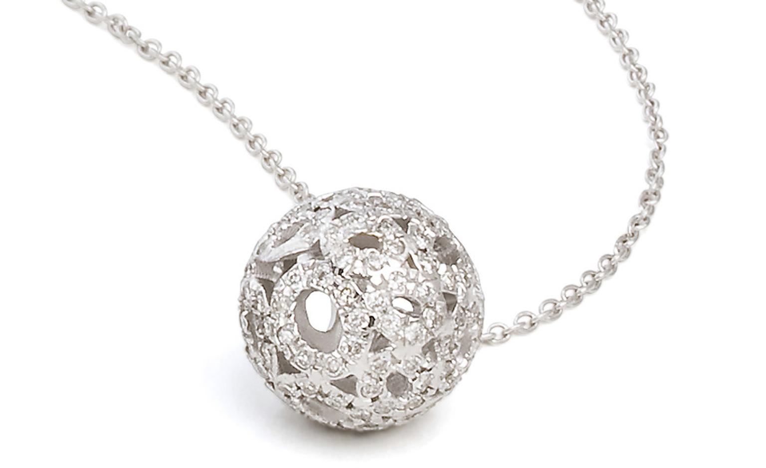 Joanna Dahdah white gold and diamond necklace £1,100