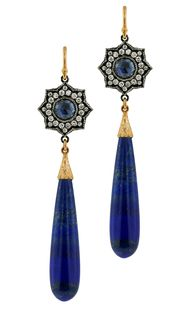 Arman Sarkisyan lapis lazuli drop earrings_20130822_Zoom