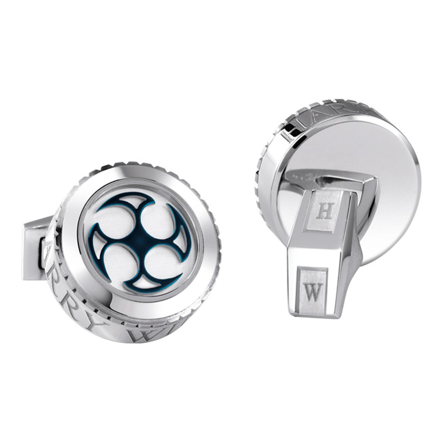 Harry Winston Ocean cufflinks_20130911_Main