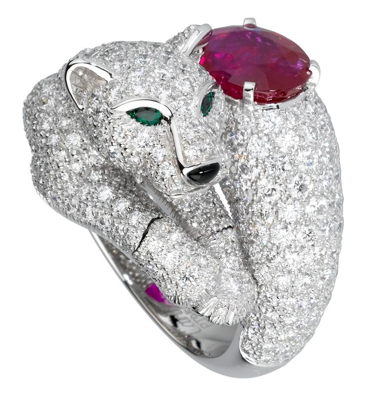Cartier Diamond Panther ring