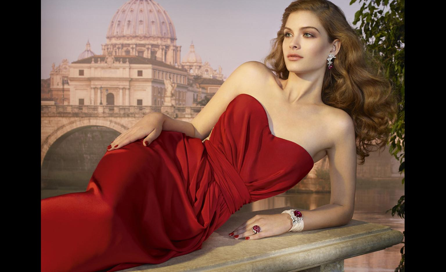 Cartier's new high jewellery collection Sortilège de Cartier was launched in Rome, the city of la dolce vita.