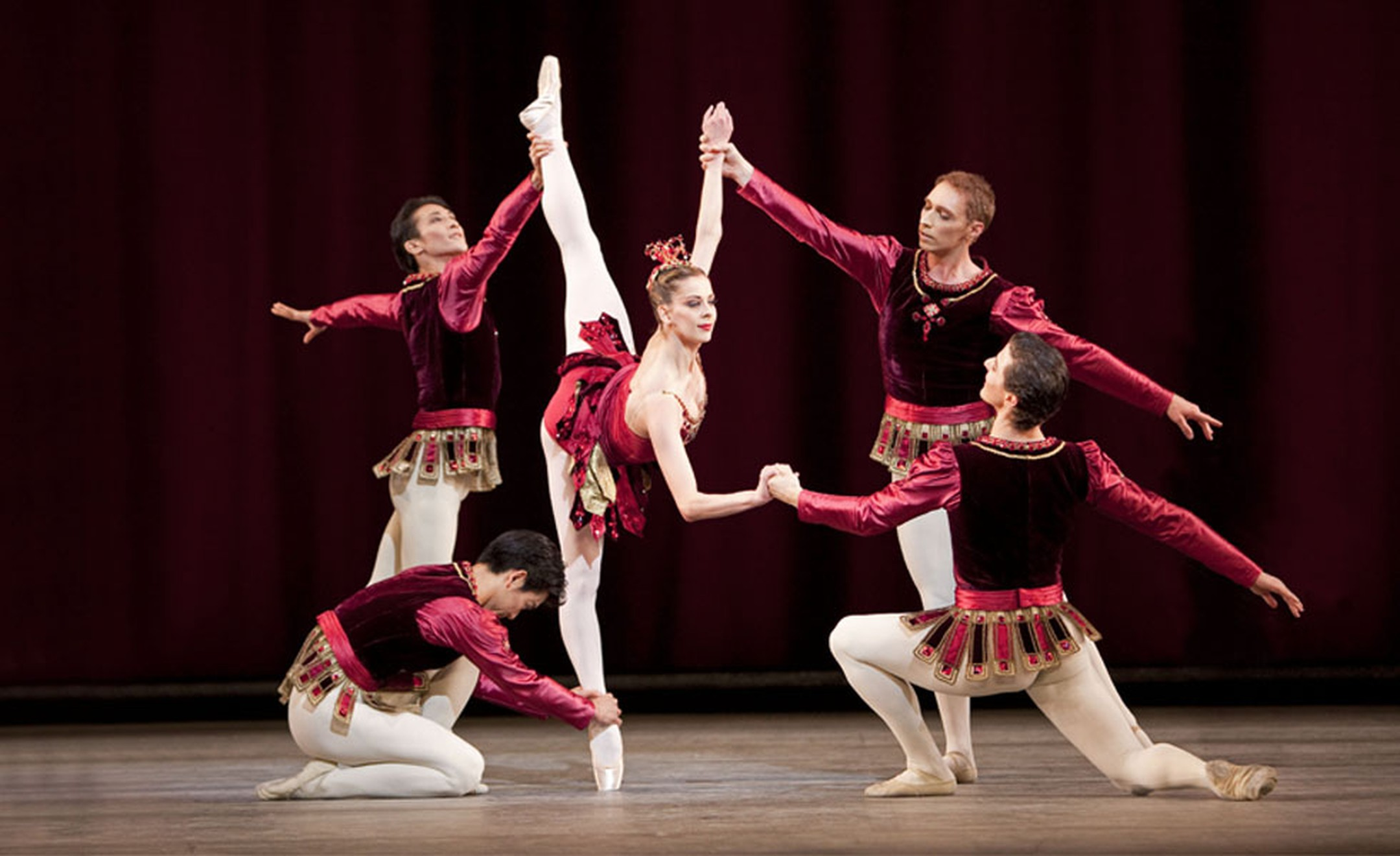 JEWELS: Rubies. The Royal Ballet.